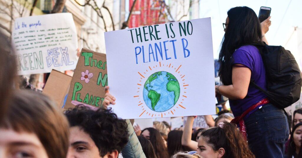 """There is no planet B"""